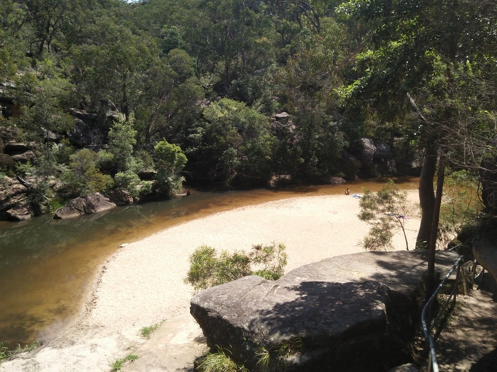 Glenbrook Gorge Blue Pool